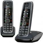 Телефон Gigaset Dect C530 DUO Black