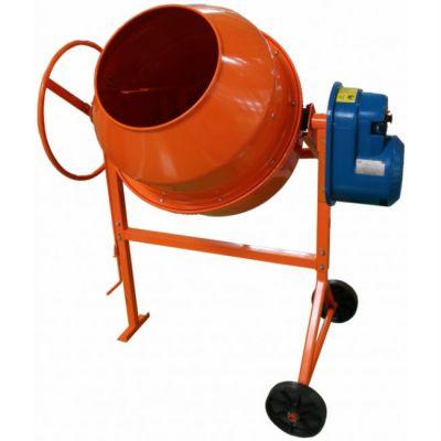 СТРОЙМАШ Бетоносмеситель СБР-190, 380 В, 1.0 кВт, 190/110 л, 77 кг, чугун. венец, 82012