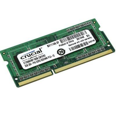 ����������� ������ Crucial DDR3L 1600 (PC 12800) SODIMM 204 pin, 1x2 ��, 1.35 �, CL 11 CT25664BF160B CT25664BF160B