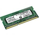 Оперативная память Crucial DDR3L 1600 (PC 12800) SODIMM 204 pin, 1x2 Гб, 1.35 В, CL 11 CT25664BF160B CT25664BF160B