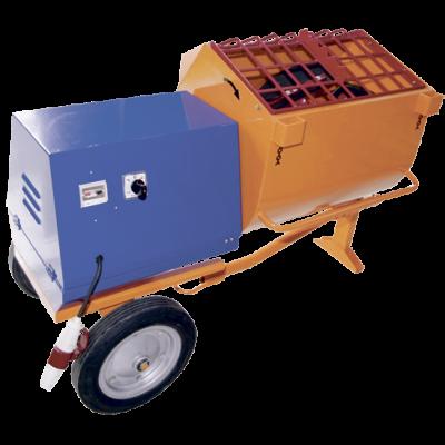 СТРОЙМАШ Растворосмеситель РН-80, 380 В, 1.5 кВт, 80 л, заполнитель не более 5 мм, 197 кг, 86001
