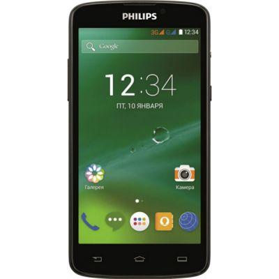 Смартфон Philips Xenium V387 Black 8712581730260