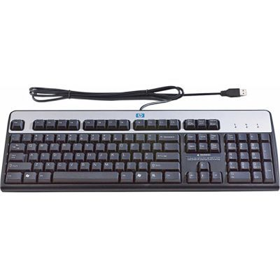 Клавиатура HP Standard Keyboard Black-Silver USB DT528A