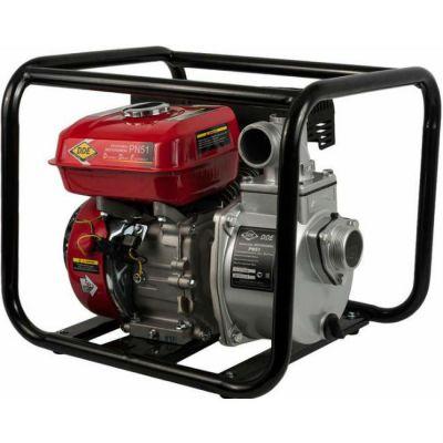 Мотопомпа DDE бензиновая PN51 вых 50 мм, 5 лc ,25 м куб/час, т. бак 3,6 л, 24 кг