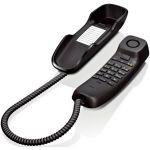 Телефон Gigaset DA210 BLACK проводной S30054-S6527-S301