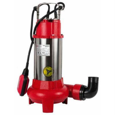 Насос Quattro Elementi дренажный Sewage 1100F Ci-Cut (1100 Вт, грязевой, чугун, с ножом), ПРОФ, 645-297