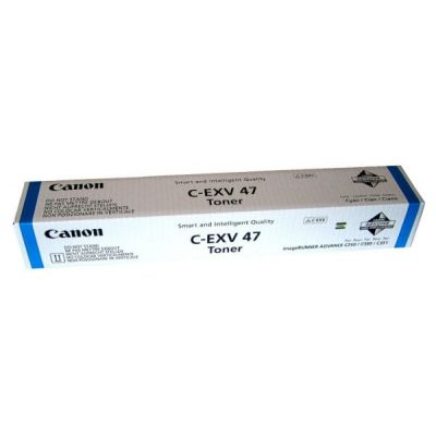 �����-�������� Canon C-EXV 47 Cyan /���������� - ������� (8517B002)