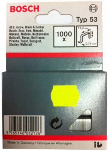 Скобы для степлера Bosch 8 мм Т53 1000 шт 1609200365