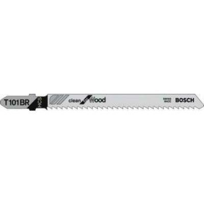 Bosch Лобзиковая пилка T101BR HCS 5 шт 2608630014