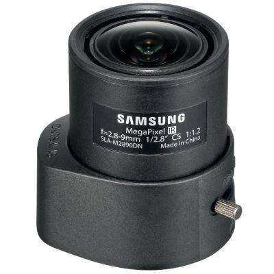 """Объектив для видеонаблюдения Samsung (3Mpix , 1/2,8"""", АРД, 2.8-9 мм, DC, F1.2-360, IR-линзы, CS, P-Iris) SLA-M2890PN"""