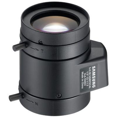 "Объектив для видеонаблюдения Samsung (1/3"", АРД, 5.0-50.0 мм, (52.7- 5.7)°, DC, F1.3-360, IR-линзы, CS) SLA-550DV"
