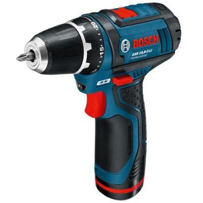 ����� Bosch �������������� GSR 10,8-2-LI Professional (10.8 �, 2 ����, 30 ��, 0,95 ��, 2 ���. 2.0 ��, �������) 0601868109