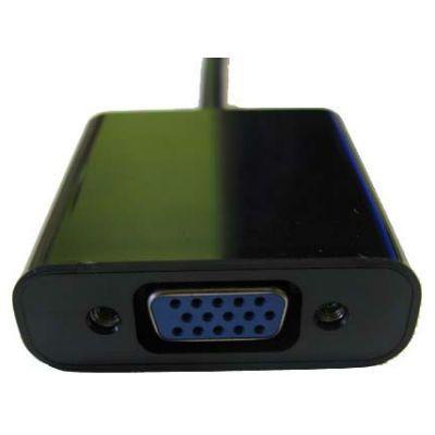 Espada Видеоадаптер Display Port M to VGA F adapter 20 cm. EPortM-VGA F20