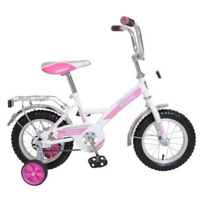 Велосипед Navigator Basic бело-розовый