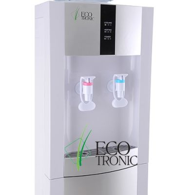 Кулер для воды Ecotronic напольный H1-L white-silver