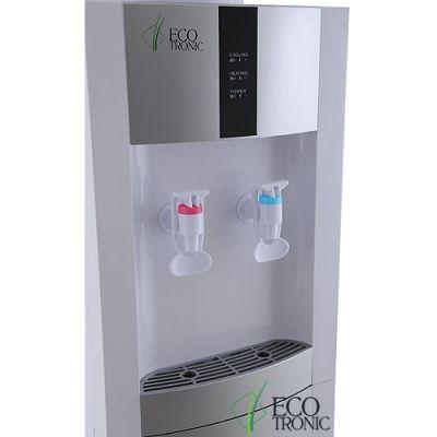 Кулер для воды Ecotronic напольный H1-LE v.2 white-silver