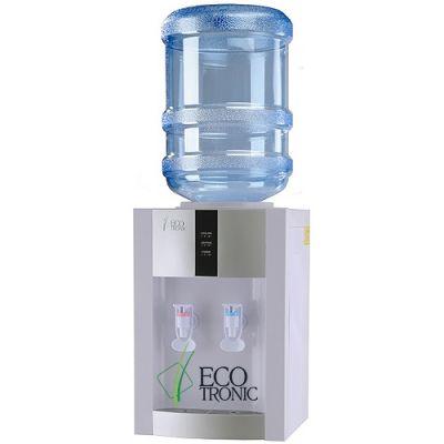 Кулер для воды Ecotronic настольный H1-TE white-silver