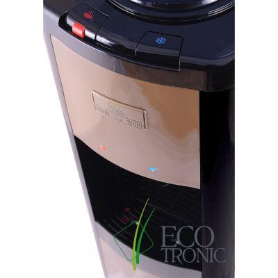 Кулер для воды Ecotronic напольный P4-L black/gold