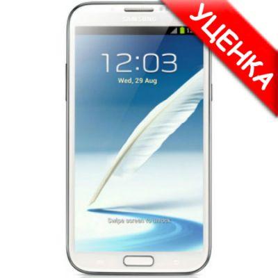 Смартфон Samsung Galaxy Note II 16Gb GT-N7100 White (Уценка) #GT-N7100RWDSER