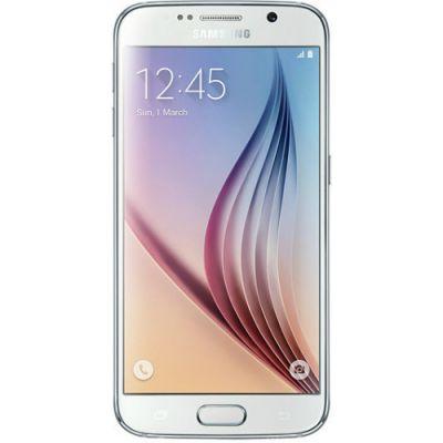 Смартфон Samsung Galaxy S6 Duos SM-G920F White SM-G920FZWVSER