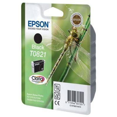 Картридж Epson T0821 Black/Черный (C13T11214A10)