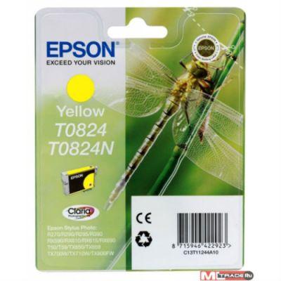 Расходный материал Epson I/C yellow для R270 / 290 / RX590 C13T11244A10