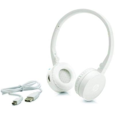 Наушники с микрофоном HP Wireless Stereo Headset H7000 (White) G1Y51AA