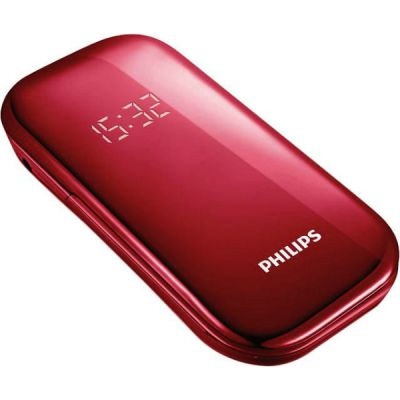 Телефон Philips E320 Red 8712581727338
