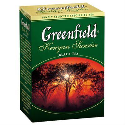 Чай Greenfield Kenyan Sunrise (100г, черный, листовой) 0487-16