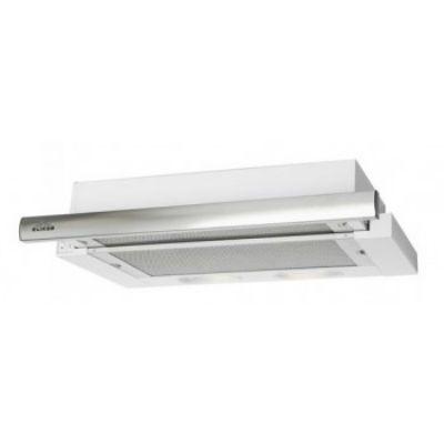 Встраиваемая вытяжка Elikor Интегра 60П-400-В2Л (белый/нержавеющая сталь) 783208
