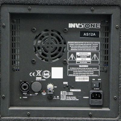 Акустическая система Invotone AS12A (активная)