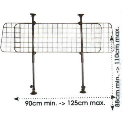 Green Valley Разделительная решетка для перевозки собак (с сеткой) GV 127102
