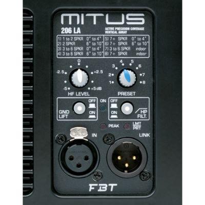 Линейный массив FBT Mitus 206LA (активный)