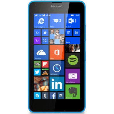 Смартфон Nokia Microsoft Lumia 640 3G Dual Sim Cyan A00024644