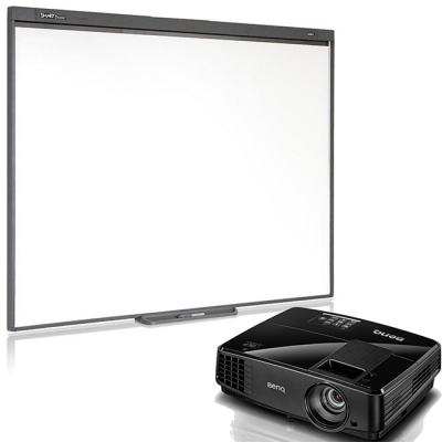 SMART Technologies Комплект проектор BenQ MX505 + интерактивная доска SB480