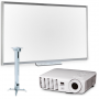 SMART Technologies Комплект проектор Vivitek D517 + интерактивная доска SBM680 + крепление проектора Digis DSM-2L