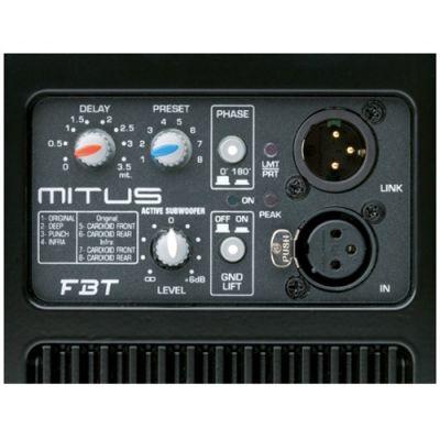Сабвуфер FBT Mitus 118SA (активный)
