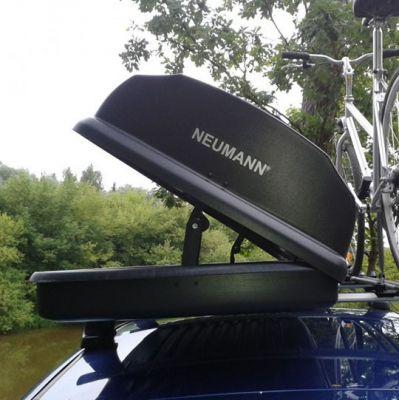 Автобокс Neumann S-line 370л 175x75x38 (черный матовый) ST 02-00075