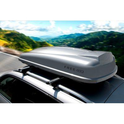 Автобокс Sotra Free 480.S 203x90x40 480л (серебристый глянцевый) ST 02-00065