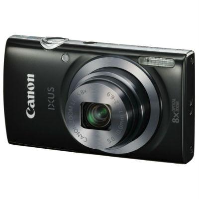 Компактный фотоаппарат Canon IXUS 160 черный 0135C001