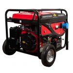 Генератор DDE бензиновый DPG5501E однофазн.ном/макс. 5,0/5,5 кВт (DDE H188F, т/бак 25 л, электростарт, КОЛЕСА, 84 кг)
