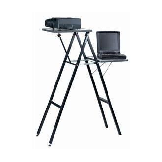 Projecta Столик Projecta Gigant I (складной, две поверхности, цвет серый), масса столика 10 кг