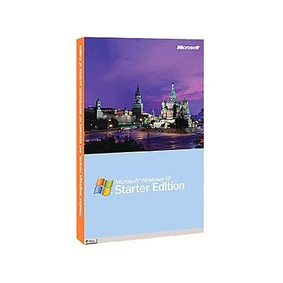 Microsoft Windows xp Starter Edition SP2b Russian Single package dsp oei <span style=&quot;color: red; font-weight ZAA-00386