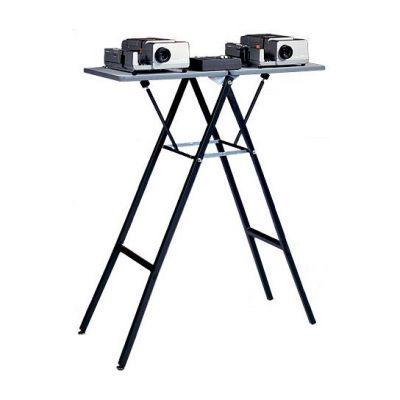 Projecta Столик Projecta Gigant II (складной, две поверхности, цвет серый), масса столика 11 кг