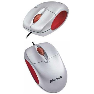 Мышь проводная Microsoft Notebook Optical Mouse 1.0 MSMR-NOM-U