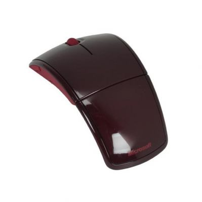 Мышь беспроводная Microsoft Arc Mac/Win Red USB ZJA-00011