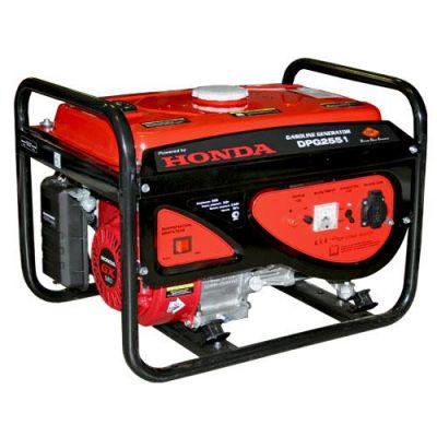 Генератор DDE бензиновый DPG2551 однофазн ном/макс. 2.0/2,2 кВт (Honda GX160, т/бак 15 л, ручн/ст, 43 кг)