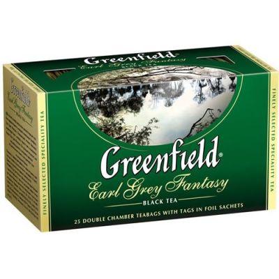 Чай Greenfield Earl Grey Fantasy (в пакетиках, 25х2г, черный) 0427-15