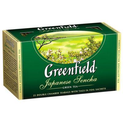 Чай Greenfield Japanese Sencha (в пакетиках, 25х2г, зеленый) 0535-15
