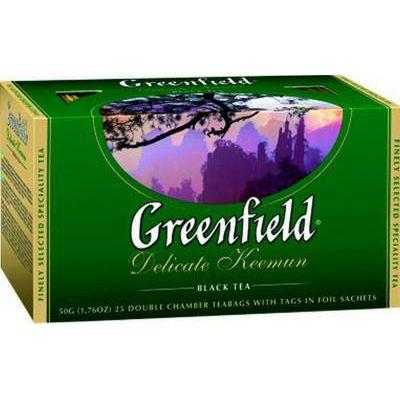Чай Greenfield Delicate Keemun (в пакетиках, 25х2г, черный) 0467-15